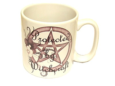 Protected by Witchcraft WR1 Mug